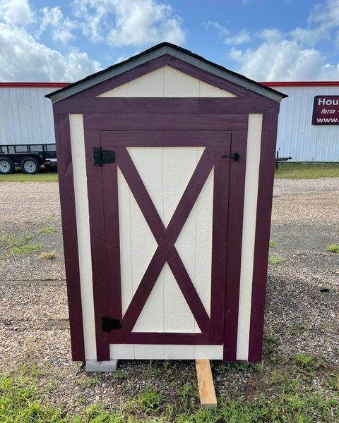 2021 TexShed 4'x6'x6' Gabled Well/Pump House