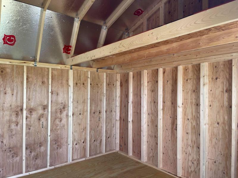 2021 Graceland 12' x 16' Side Lofted Barn Utility Shed