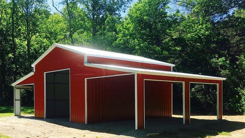 2021 Star 44' x 30' x 12/8' Horse Barn