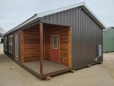 2021 General Shelters Rodeo Cabin