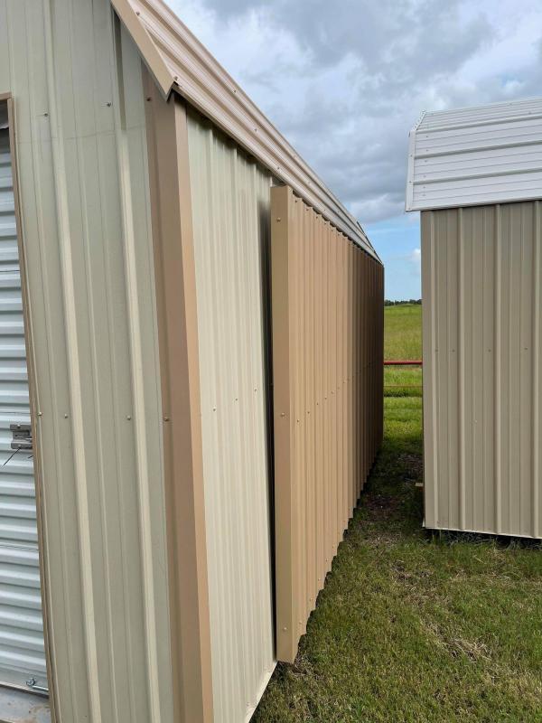 2021 General Shelters 12' x 20' Barn Style Garage/Carport