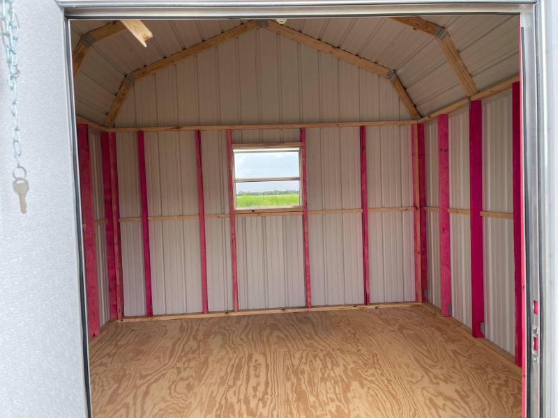 2021 General Shelters 12' x 12' Barn Style Utility Shed