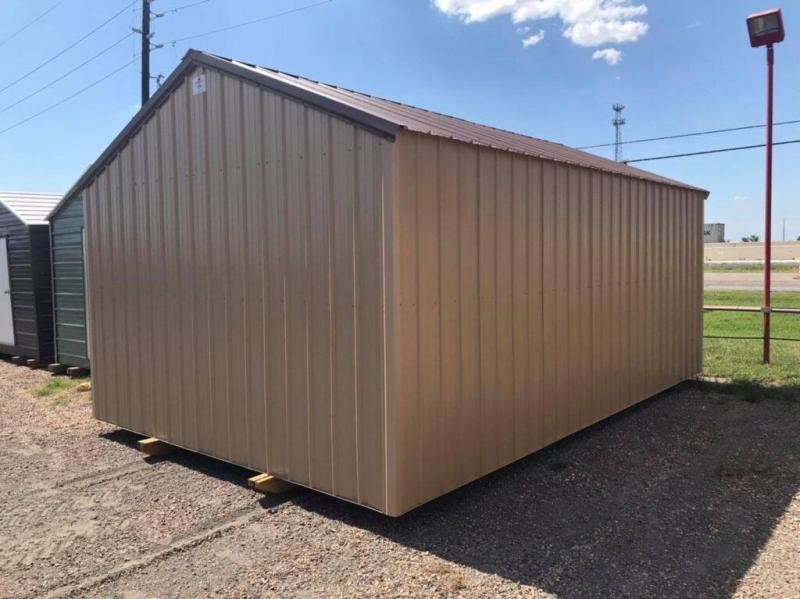14 x 20 Gable Shed with Garage