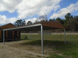 2021 Bedrock/General Shelters 20' x 20' x 8' Carport
