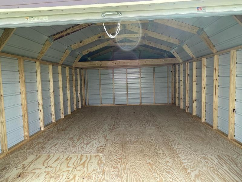 2021 General Shelters 14 x 20 Eff. Barn with Garage Garage/Carport