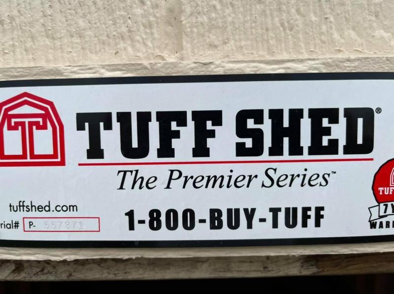 2020 Tuff Shed 12x16 Split Door Gabled Utility Shed