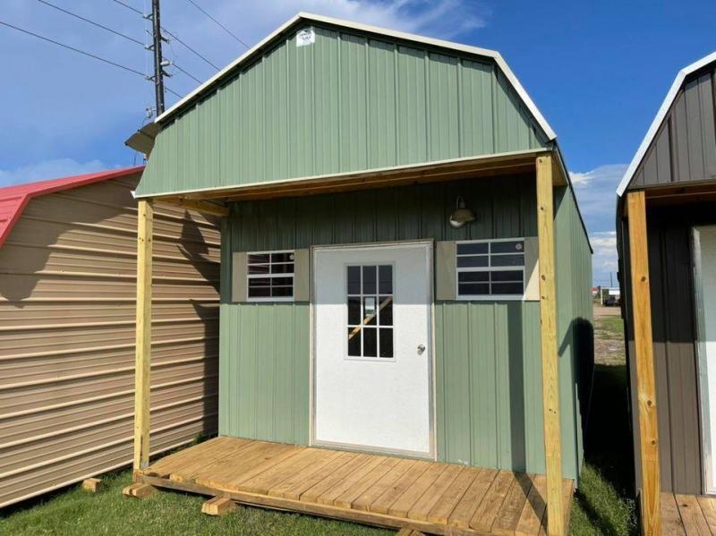 2021 General Shelters 12' x 32' Cabin Shell Cottage Shed