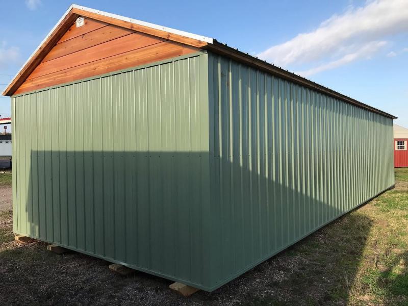 2021 General Shelters 16' x 40' Dormer Shed Cottage Shed