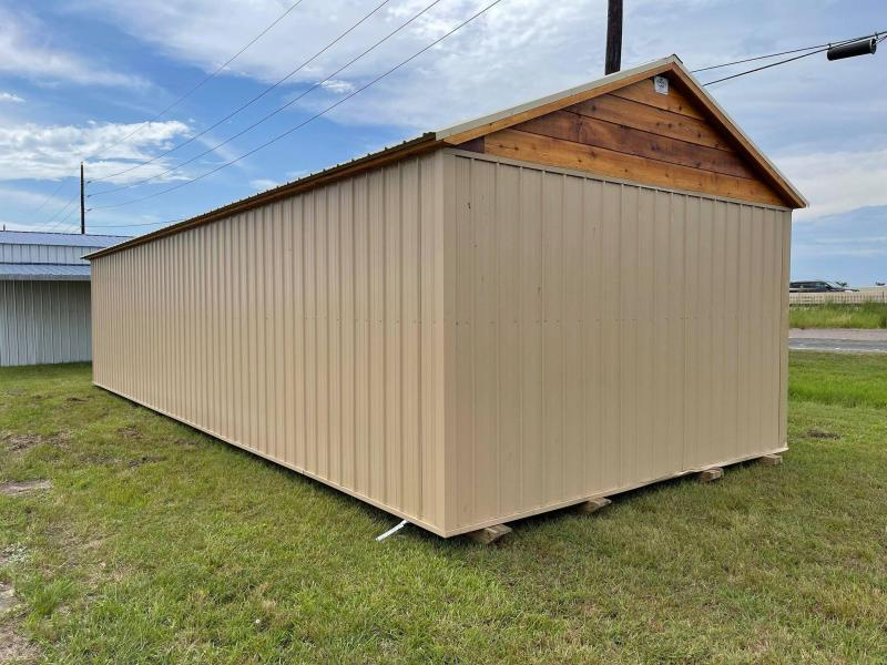 2021 General Shelters 16' x 40' Double Dormer Cottage Shed