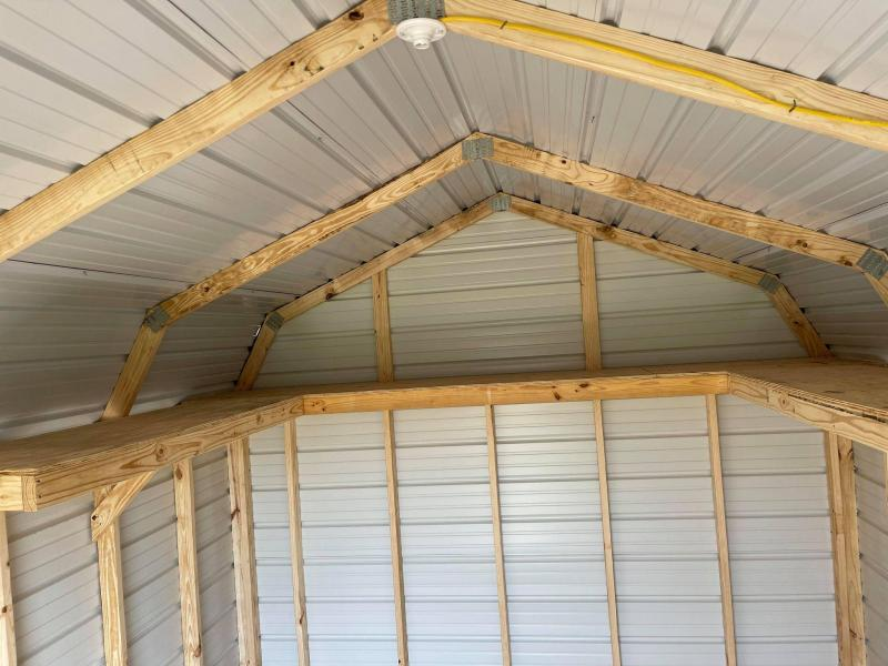 2021 General Shelters 12' x 16' Efficiency Barn Utility Shed