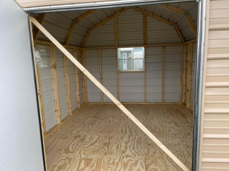 2021 General Shelters 10'x12' Barn Style Utility Shed