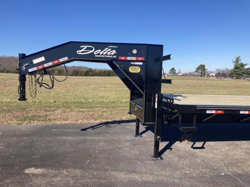 2020 Delta Manufacturing 210GN Tandem 10K Dually Gooseneck Equipment Trailer