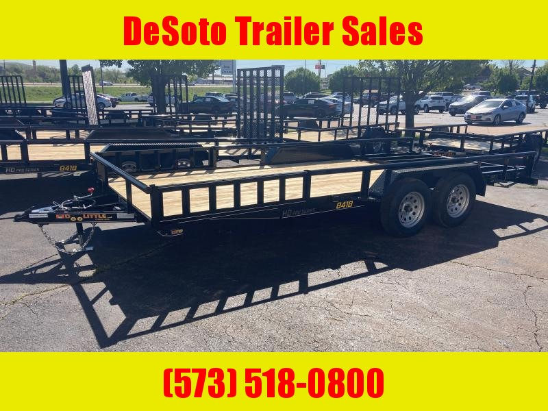 2021 Doolittle Trailer Mfg 84x187K Utility Trailer w ATV Side Ramps