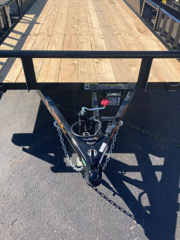 2021 Doolittle Trailer Mfg 84x187K Utility Trailer
