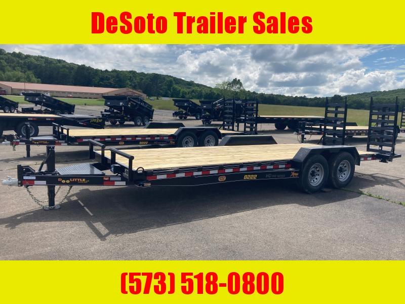 2021 Doolittle Trailer Mfg XT822214K Equipment Trailer