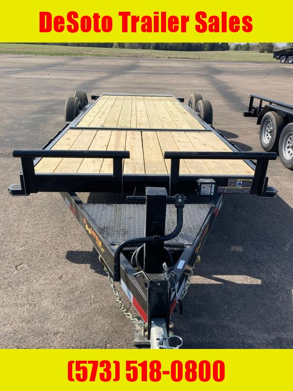 2021 Doolittle Trailer Mfg GT822214K Tilt Bed Equipment Trailer