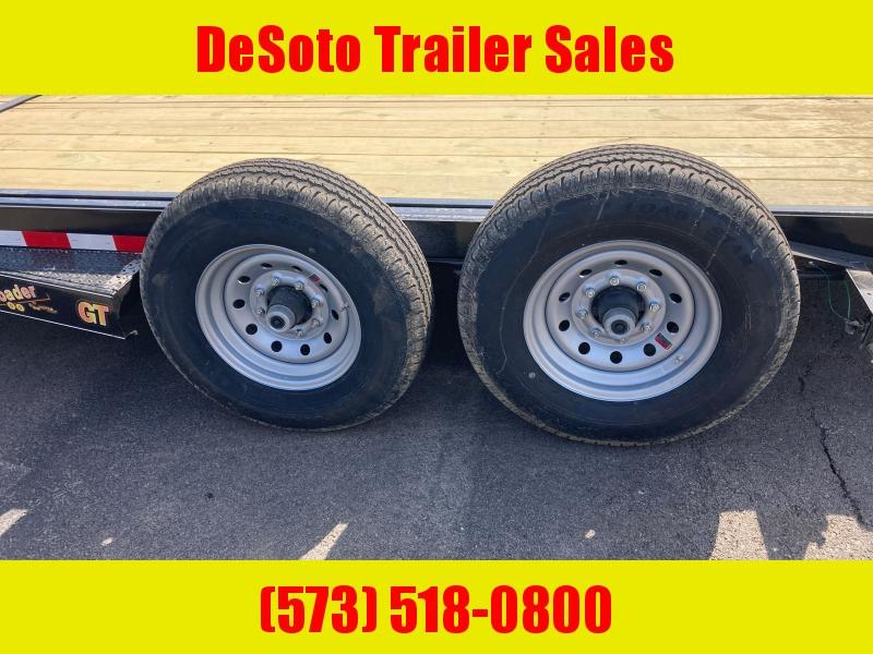 2021 Doolittle Trailer Mfg GT822214K Tilt Bed Equipment Trailer