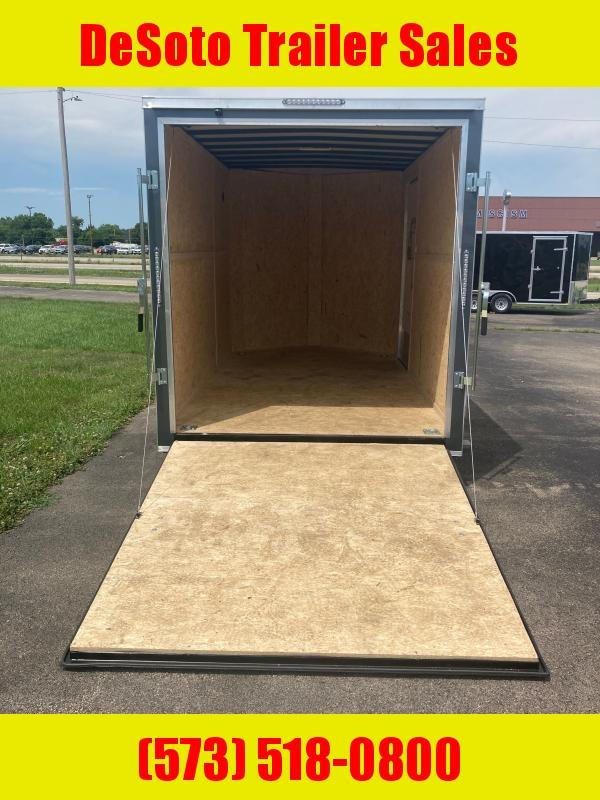 2021 Doolittle Trailer Mfg 7 X 12 S/A Enclosed Cargo Trailer