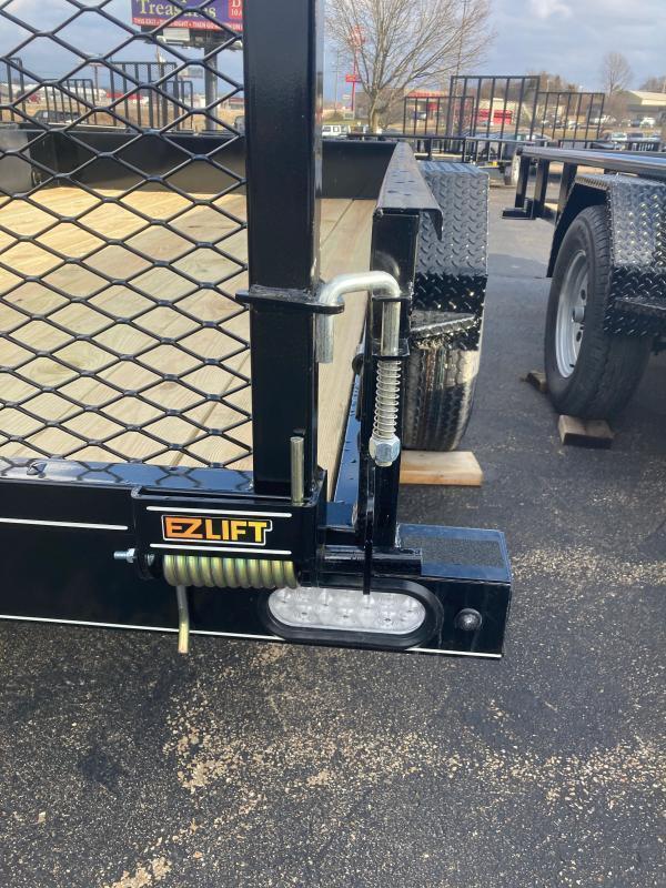 2022 Doolittle Trailer Mfg 77X12 3K SS Utility Trailer