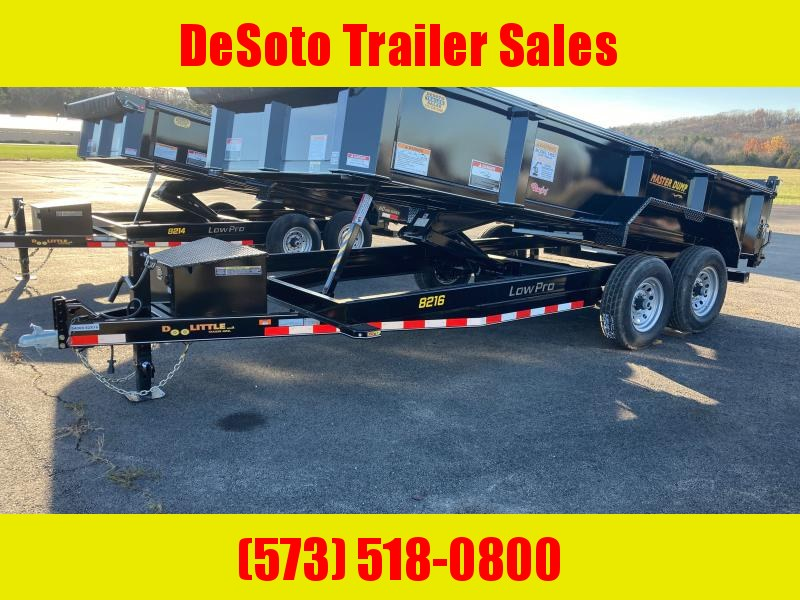 2021 Doolittle Trailer Mfg MD821614K Dump Trailer