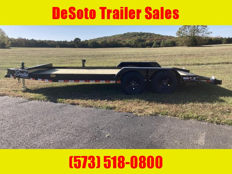 2020 Delta Manufacturing 252CH Car / Racing Trailer