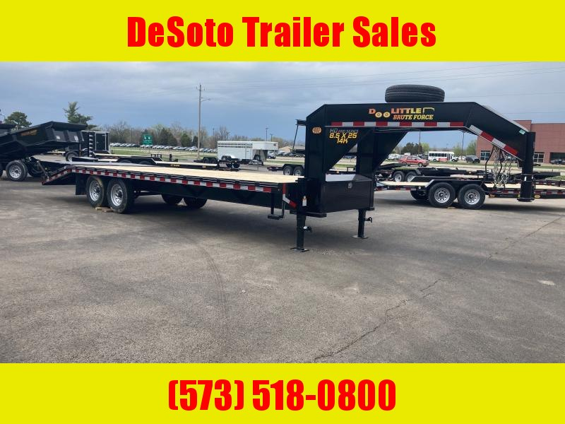 2021 Doolittle Trailer Mfg Brute Force Deckover Trailer