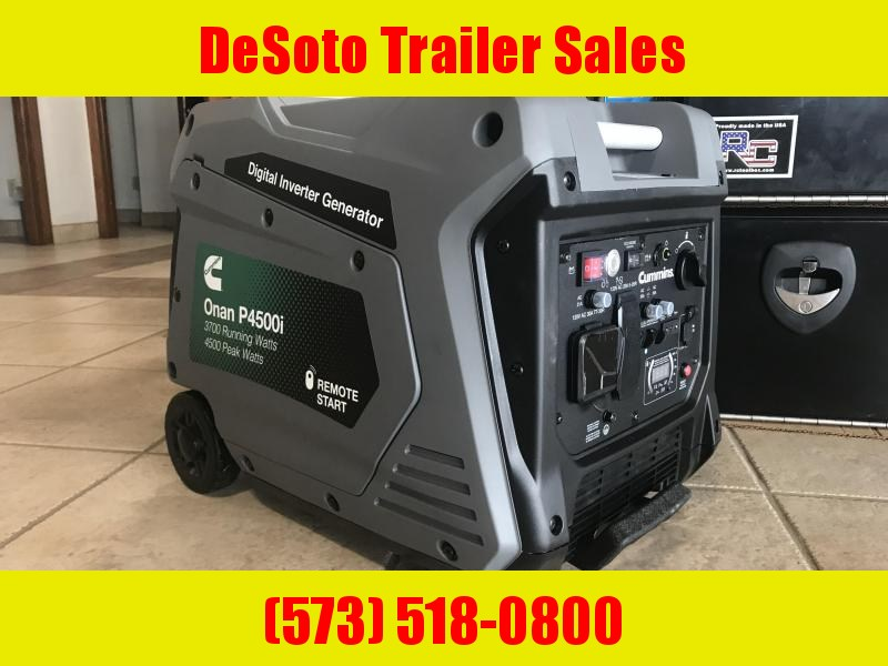 Cummins Onan Portable Generator P4500i