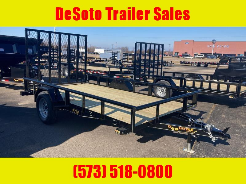 2021 Doolittle Trailer Mfg UT77X123K Utility Trailer