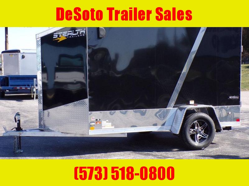 2018 Stealth Blackhawk 6 x 10 Motorcycle Trailer