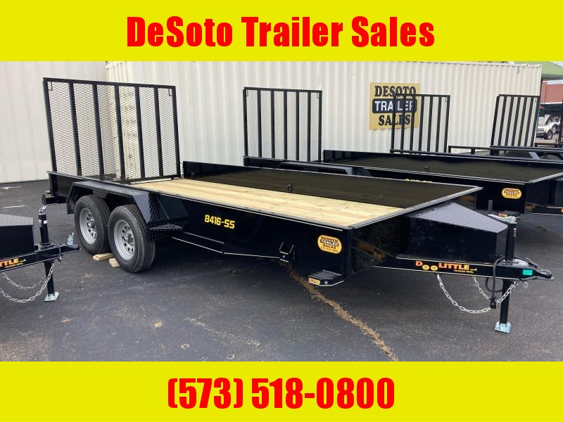 2021 Doolittle Trailer Mfg UT84X167KSS Utility Trailer