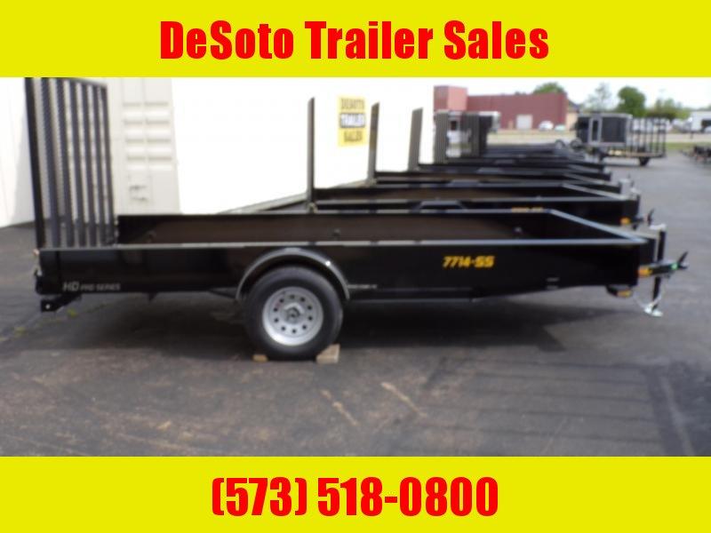 2020 Doolittle Trailer Mfg UT77143 Utility Trailer