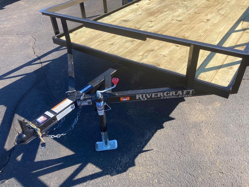 2022 Rivercraft 76X12UTG Utility Trailer