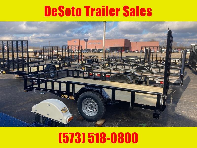 2021 Doolittle Trailer Mfg UT77X123K Utility Trailer