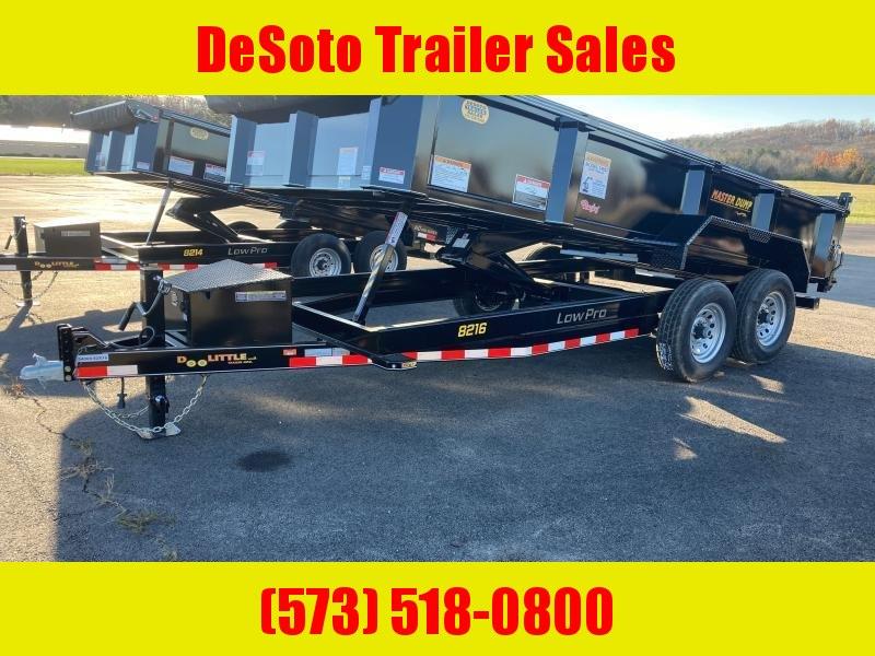 2022 Doolittle Trailer Mfg MD821614K Dump Trailer