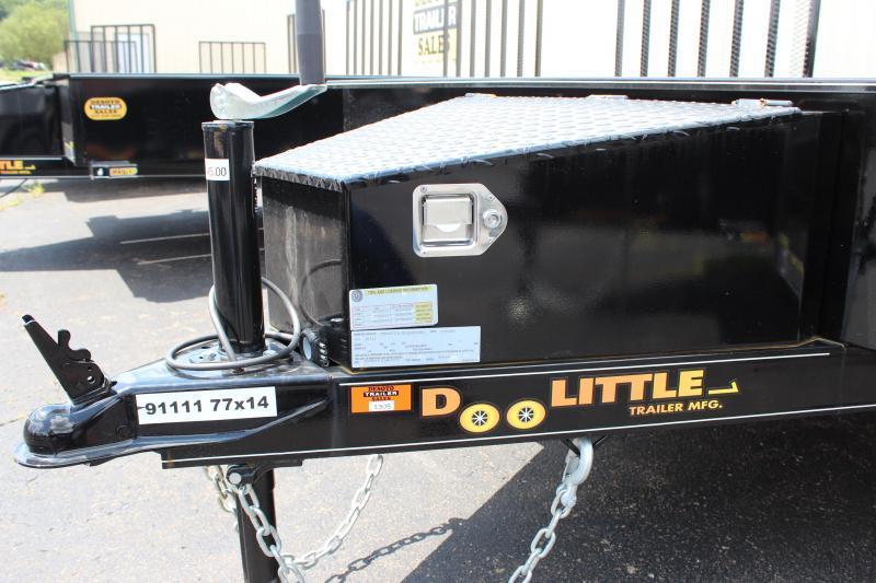 2022 Doolittle Trailer Mfg UT77X143K Utility Trailer
