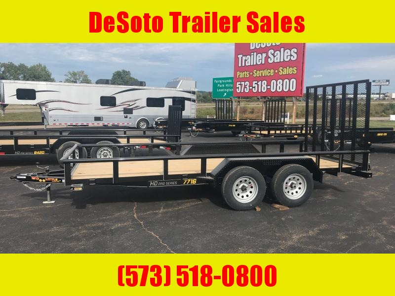 2021 Doolittle Trailer Mfg UT77X167K Utility Trailer