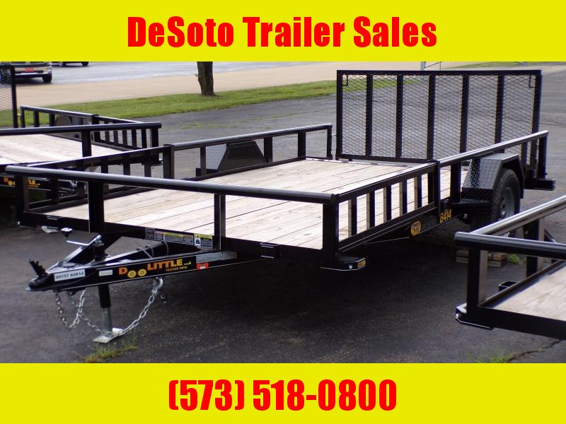 2020 Doolittle Trailer Mfg UT84X143K Utility Trailer