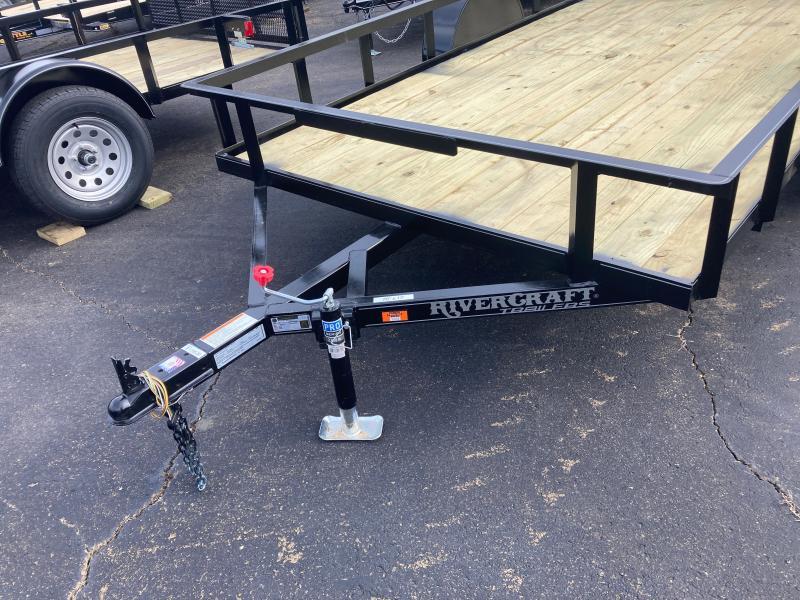 2021 Rivercraft 76X12 UTG Utility Trailer