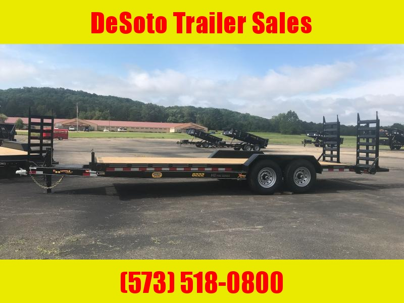 2021 Doolittle Trailer Mfg XT822014K (20+2) Equipment Trailer