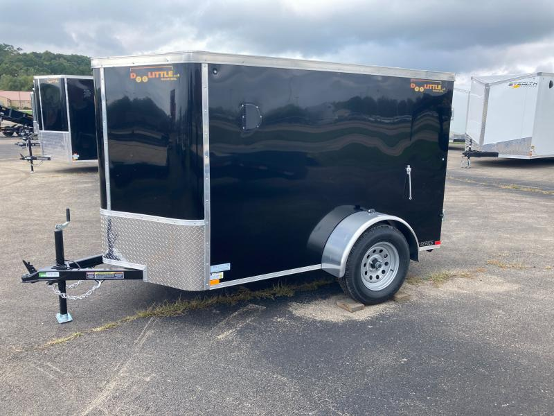 2022 Doolittle Trailer Mfg 5x8 Enclosed Cargo Trailer