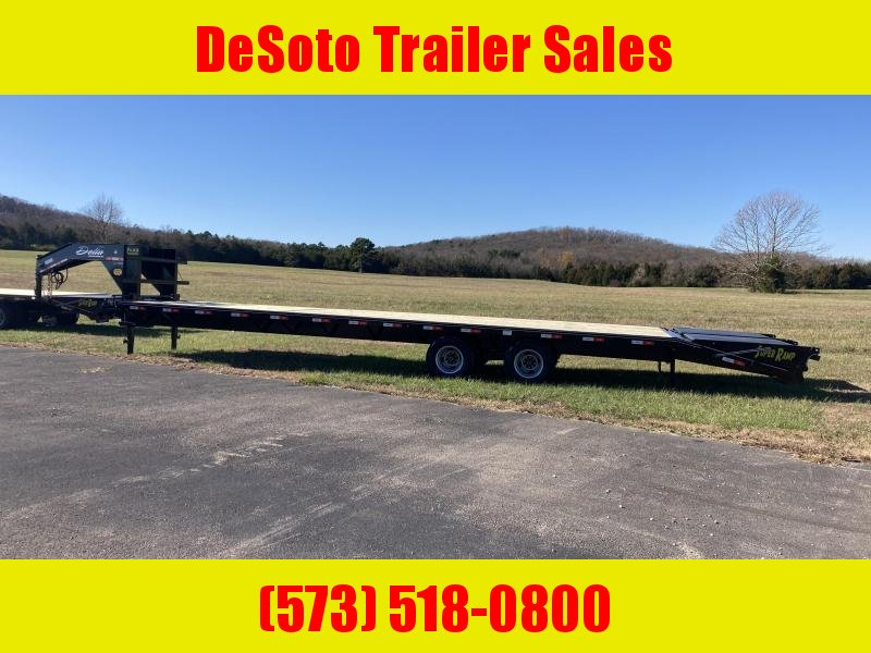 2021 Delta Manufacturing 210GN Tandem 10K Dually Gooseneck Equipment Trailer