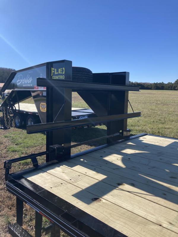 2021 Delta Manufacturing 210GN Tandem 10K Dually Gooseneck Equipment Trailer