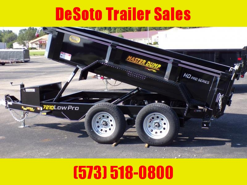2020 Doolittle Trailer Mfg MD72X10 10K Dump Trailer