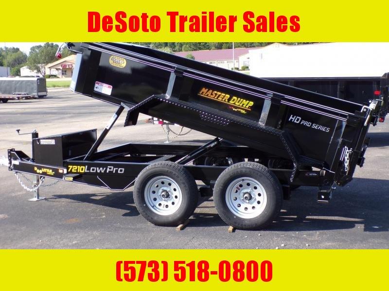 2020 Doolittle Trailer Mfg MD72X10 10K Dump Trailer