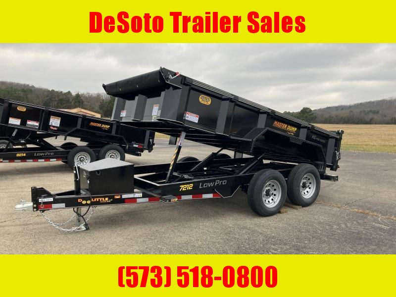 2021 Doolittle Trailer Mfg Dump Trailer MD721210K