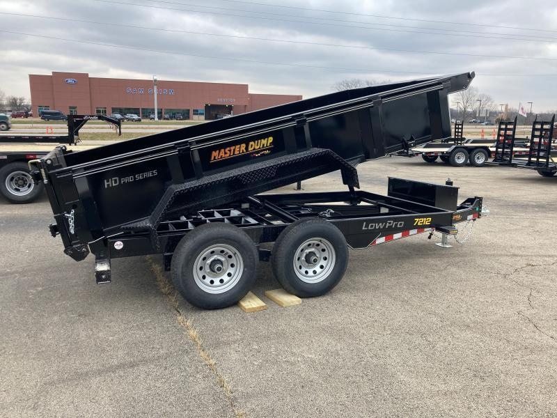 2021 Doolittle Trailer Mfg Dump Trailer MD721210K