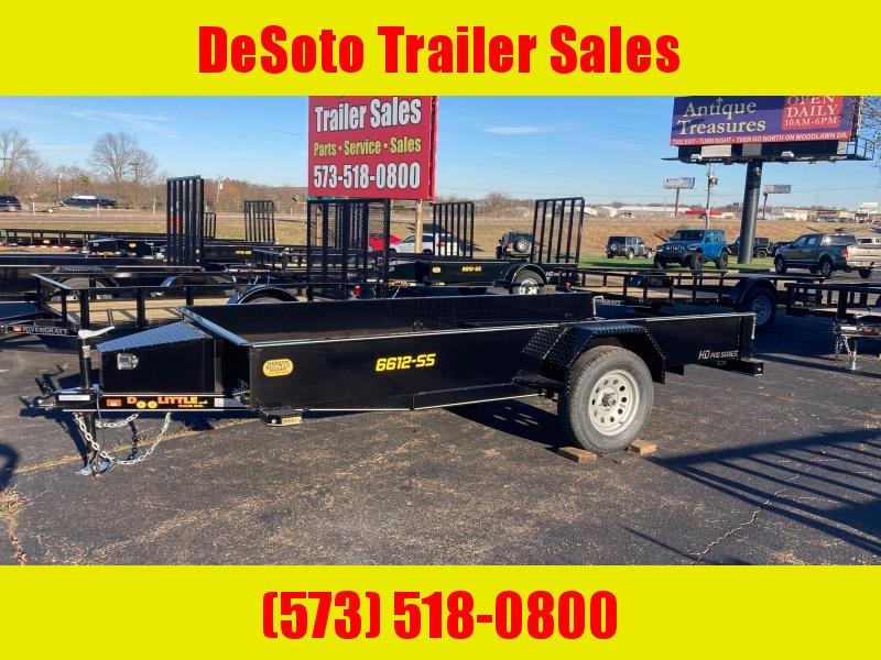 2021 Doolittle Trailer Mfg UT66X123K Utility Trailer