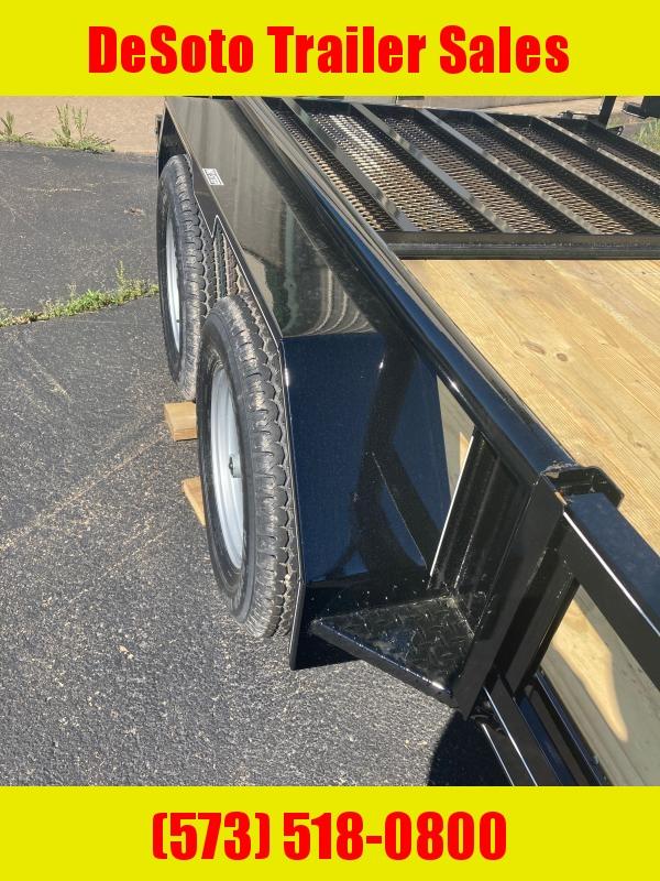 2021 Doolittle Trailer Mfg 77 X 14 7K w ATV side ramps Utility Trailer