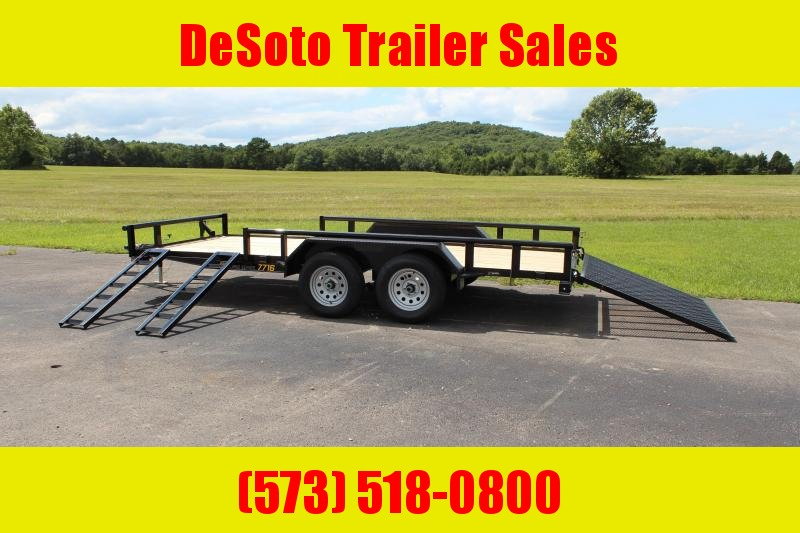 2021 Doolittle Trailer Mfg UT77X167K Utility Trailer