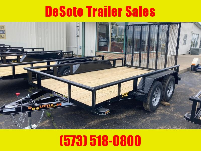 2021 Doolittle Trailer Mfg UT 77X12 7K Utility Trailer